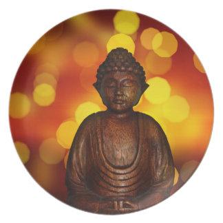 Buddha Party Plates