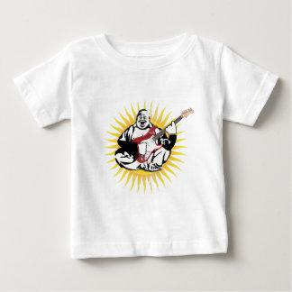Buddha Playing Guitar - Vintage Style Baby T-Shirt