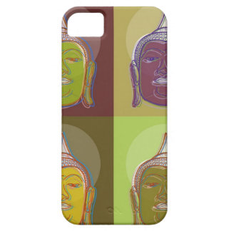 Buddha Pop Art Retro Modern iPhone 5 CaseMate Cover For iPhone 5/5S