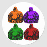 buddha - pop art sticker
