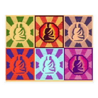 Buddha -- Pop Art Style Postcard