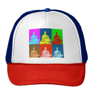 Buddha Pop Art Style Trucker Hat