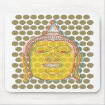 Buddha Pop Dots Mousepad