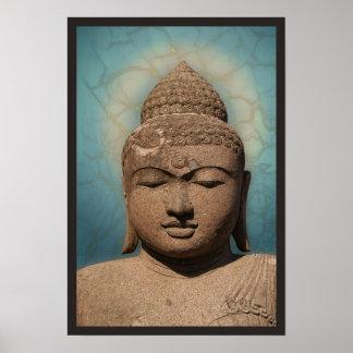 Buddha' portrait poster
