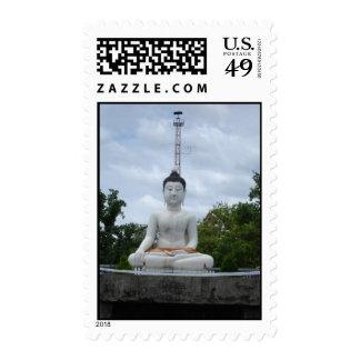 Buddha   postage stamps