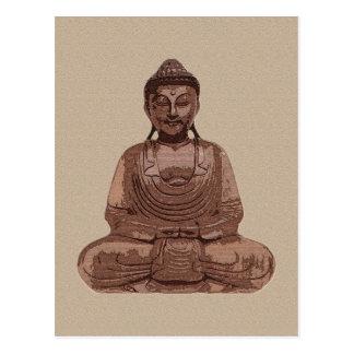 Buddha - postcard