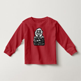 """Buddha Pray"" Toddler Long Sleeve T-Shirt"