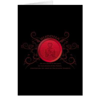 Buddha Present Moment Card