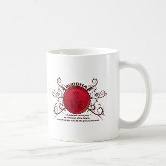 Buddha Present Moment Classic White Coffee Mug
