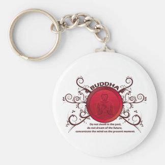 Buddha Present Moment Keychain