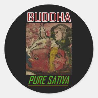BUDDHA PURE SATIVA STICKER