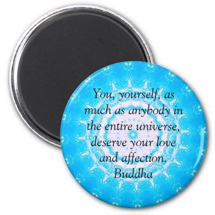 Buddha QUOTATION Buddhist Spiritual Quotes Fridge Magnet