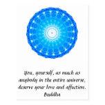 Buddha  QUOTATION Buddhist Spiritual Quotes Postcard