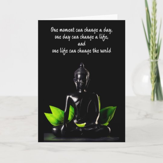 Buddha quote 2 customizable greeting card zazzle buddha quote 2 customizable greeting card m4hsunfo