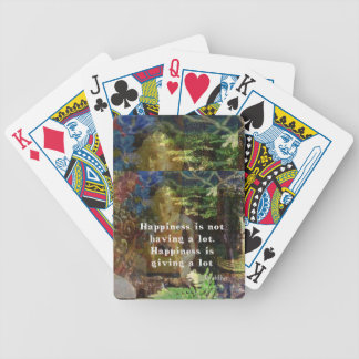 BUDDHA quote about happiness Card Decks