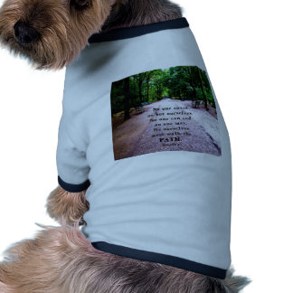 Buddha QUOTE about personal salvation and choices Doggie Tshirt