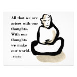 Buddha Quote: All That We Are Announcement