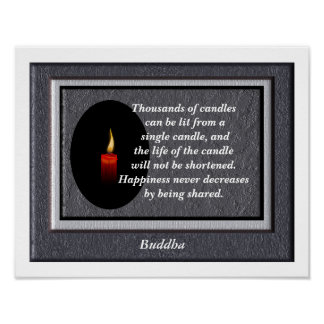 Buddha quote - art print