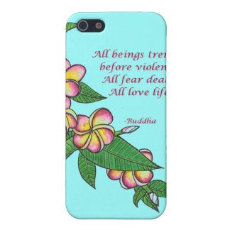 Buddha Quote Cover For iPhone SE/5/5s