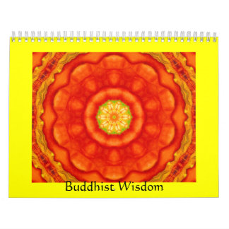 Buddha quote inspirational yoga meditation art calendar