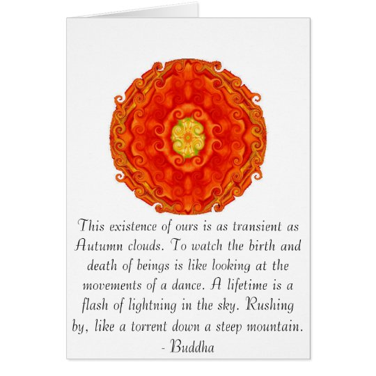 Buddha quote inspire motivational card