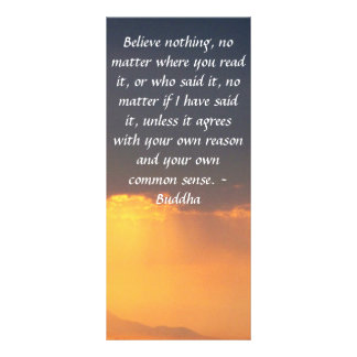 Buddha quote inspire motivational rack card