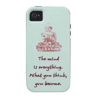 Buddha Quote iPhone 4/4S Case