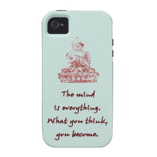 Buddha Quote iPhone 4/4S Case