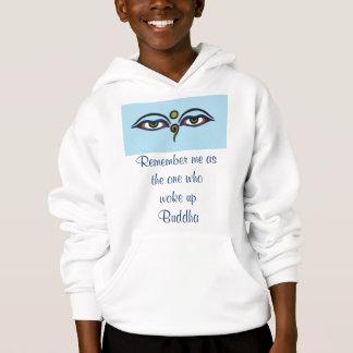 Buddha quote kids hoodie