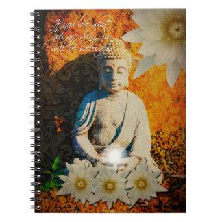 Buddha Quote Notebook