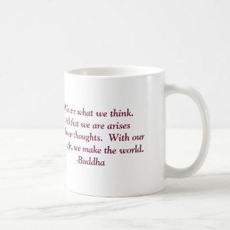 Buddha Quote On Thoughts Mug