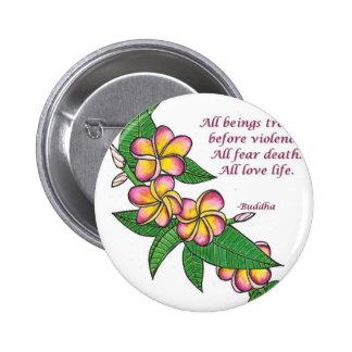 Buddha Quote Pinback Button