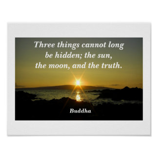Buddha quote posters