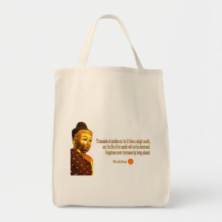 Buddha Quote - The way is not in the sky ... Tote Bag
