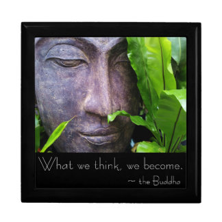 Buddha Quote What We Think We Become Gift Box