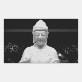 Buddha Rectangular Sticker