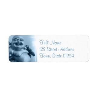 Buddha Return Address Mailing Label