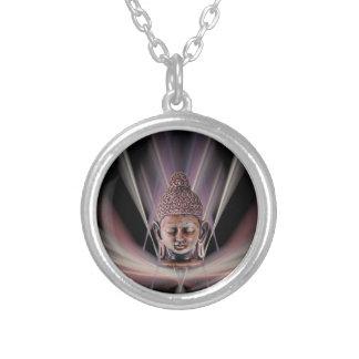Buddha Round Pendant Necklace