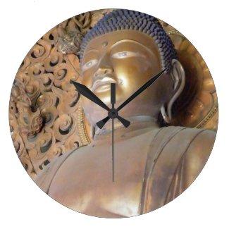 Buddha Round Clocks