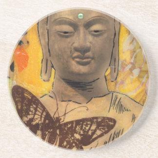 Buddha Rules Drink Coaster