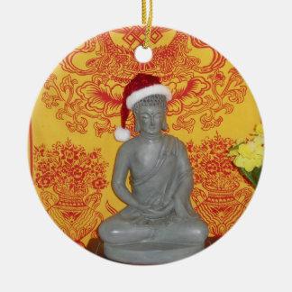 Buddha Santa Ornament