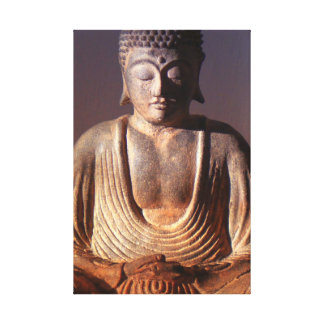 Buddha Seated Gallery Wrap Canvas