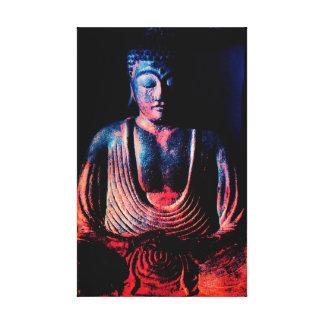 Buddha Seated Canvas Print