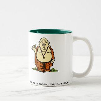 Buddha Shaka Two-Tone Coffee Mug