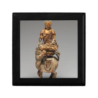 Buddha Shakyamuni with attendant bodhisattvas Jewelry Box