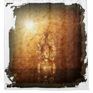 Buddhism Shower Curtains | Zazzle