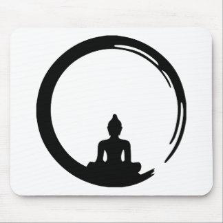 Buddha silent mouse pad