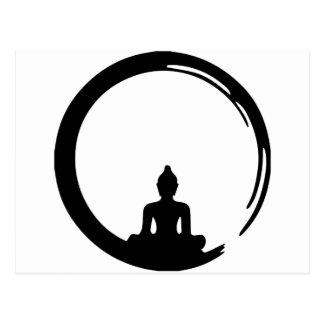 Buddha silent postcard