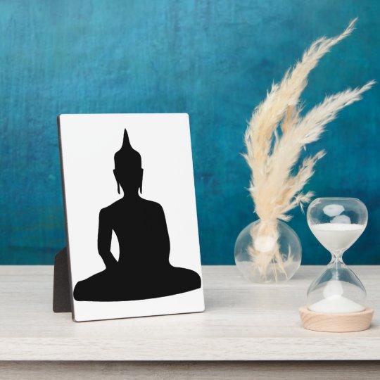 Buddha Silhouette Plaque