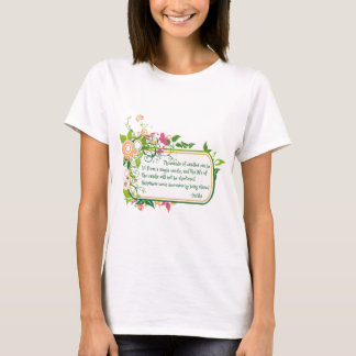 Buddha Single Candle Quote T-Shirt